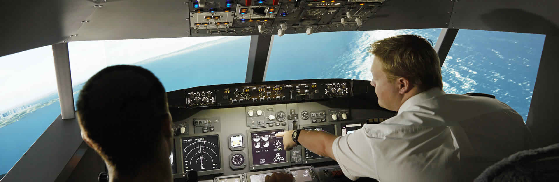 pilote flight simulator